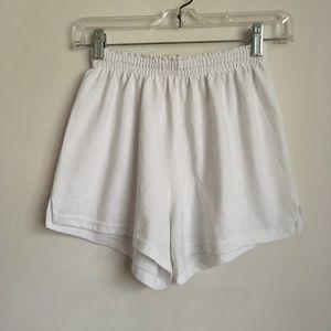 Authentic Soffe Shorts White Size Medium